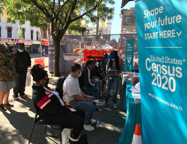 Women's Home Preservation Fund Helping People Get Counted in the 2020 Census at Lexington Market in Baltimore City, September 21, 2020